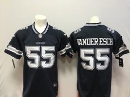 Men's allas Cowboys #55 Leighton Vander Esch Blue football jersey stitched  - $54.99