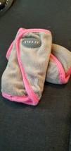 JJ Cole REVERSIBLE Strap Covers - Pink/Grey - Car Seat, Stroller, Seat Belt - $8.91