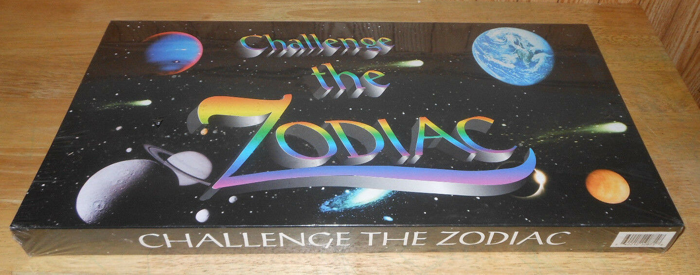 Primary image for Challenge the Zodiac Astrology Planetary System Board Game Patti Rockburn Sealed