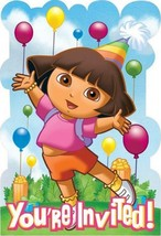Dora and Friends Save The Date Party Invitations 8 Per Package Birthday ... - $5.20