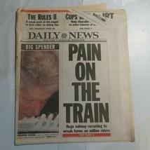 Daily News New York December 11 1997 Clinton Spending Money Pain on Trai... - $39.99