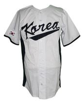 Shin-Soo Choo South Korea Baseball Jersey Button Down White Any Size image 1