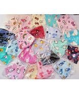 3 x PacK child Kid FACE MASK Cover pink blue HK hello kitty cat mickey f... - $4.94+