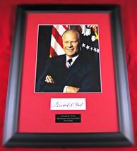 Gerald Ford Framed Signature Display - $368.98