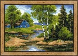 Summer House Cross Stitch Kit Riolis - $22.00