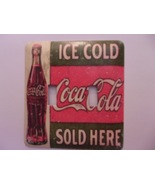 Vintage Coca Cola metal light switch cover Soda Double Toggle - $10.50