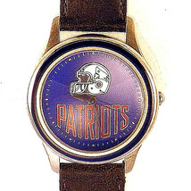 Patriots NFL 1994 New Official Fossil Collectible Watch Silver Tone XX/10000 $75 - $74.10