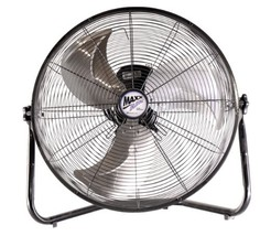 MaxxAir HVFF20UPS Multi Purpose High Velocity 3-Speed Floor Fan, 20-Inch - $57.25