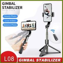 Proker Handheld Gimbal Stabilizer Mobile Phone Selfie Stick Holder Adjus... - $48.77