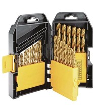 29 Pc Titanium Nitride Coated Drill Bit Set, USA SELLER!! - $19.55