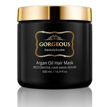 Gorgeous-  mask Argan Oil Hair Mask Restorative Hair Mask Repair - $63.10