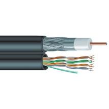 Vextra(R) V6C5E Siamese RG6 Coaxial/CAT-5E Cable, 1,000ft - $293.72
