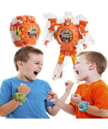 D watch projection toy light projector robot early education educational toys autobots thumbtall