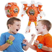 2in1 Deformed Watch Projection Toy Light Projector Robot Early Education... - $12.46