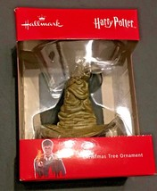 Hallmark Harry Potter Sorting Hat Boxed Christmas Ornament NEW - $16.99
