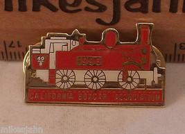 California Boxcar Association 1996 Red Train Vintage Shirt Hat Lapel Pin... - $9.89