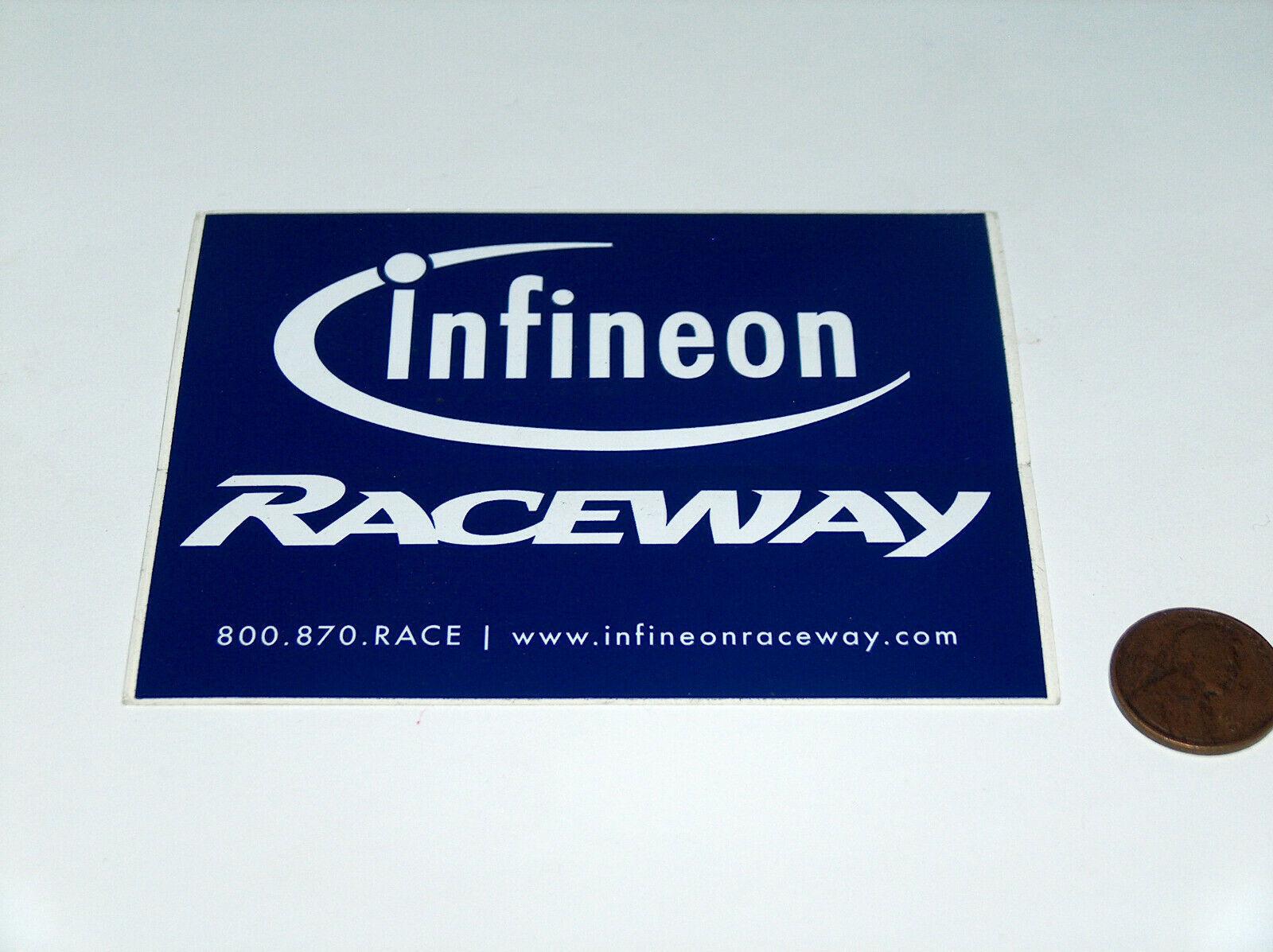 "Nascar Infineon, Sonoma, Sears Point Raceway Bleu 4 "" Autocollant Vitre"