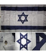ALBATROS 3 ft x 5 ft Embroidered Sewn Israel Israeli Country Star David ... - $78.15