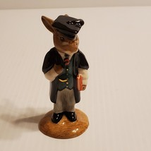 Vintage Royal Doulton Schoolmaster Bunnykins figurine DB60. Vintage, @1987.    - $30.00