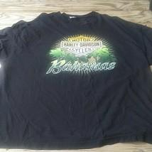 Harley Davidson  Bahamas Black T Shirt SZ 3xL Short Sleeve Tee Shirt - $7.92