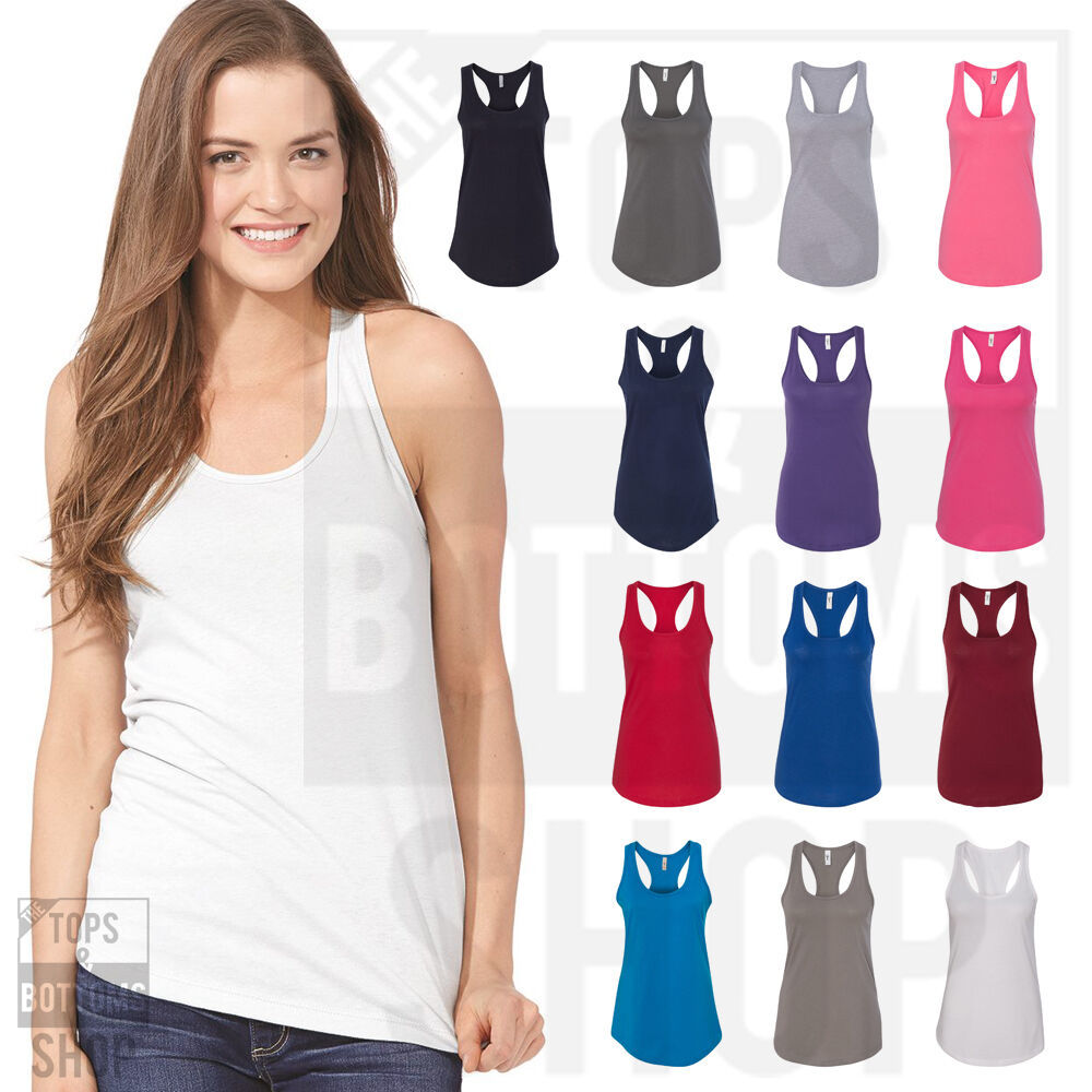 Primary image for Next Level Womens Ideal Racerback Premium Quality Tank Top Shirt XS-2XL - 1533