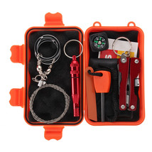 SOS Outdoor Survival First Aid Hiking Kit Camping Rescue Gear Emergency - $18.02