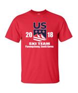 United States US SKI Team  Olympics Winter Downhill Skiing Men's Tee Shi... - $8.87+