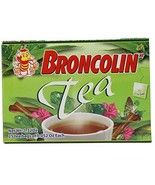 Broncolin Herbal Tea Bags with Honey and Plant Extracts 25 Tea Bags - $7.91