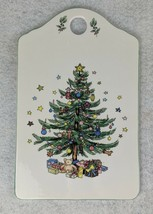 "Christmastime Nikko Ceramic Snack Cheese Board 9"" x 5-3/4"" - $13.45"