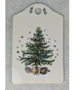 """Christmastime Nikko Ceramic Snack Cheese Board 9"""" x 5-3/4"""" - $13.45"""