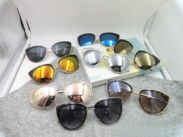 2018 Summer Fashion Style Cat Eye Women Sunglasses Lady Alloy Sun Glasse... - $15.99