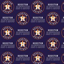 """Houston Astros Logo on Navy B/G-60"""" Wide-BTY - $12.95"""