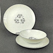 2 NARUMI Pinecrest China Place Settings 3 Piece Dinner Luncheon Plate Bo... - $28.66