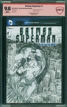BATMAN/SUPERMAN #1, CBCS 9.8 NM/MT -  Sketch Cover - $123.75