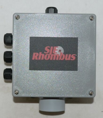 SJE Rhombus Junction Box 1008549 Connectors Included 1.5 HUB RCC8