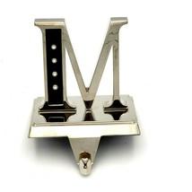 Harvey Lewis Letter M Christmas Stocking Holder Hanger Swarovski Monogram  - $29.88