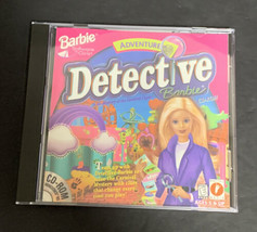 Barbie Adventure Detective Mystery Of The Carnival Caper CD-ROM Tested 1998 - $32.71