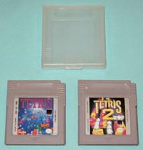 Vintage Lot ~ TETRIS and TETRIS 2 ~ Nintendo Game Boy ~ Video Game Cartr... - $17.71