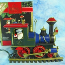 Hallmark Santa Special Train 1991 Magic Christmas Ornament 1st Special Edition - $19.75