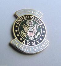 United States Army Operation Desert Storm Veteran Lapel Pin Badge 1 inch - $4.46