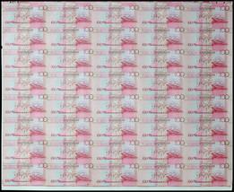 Seychelles 100 Rupees,2013,P-40,UNC,40 Pieces (PCS) Uncut Sheet,35th Ban... - $399.99