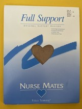 Nurse Mates Full Support Pantyhose Nearly Nude Sz B  Compression - $9.31