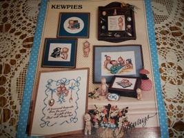 Vintage Kewpie Counted Cross Stitch Leaflet - $8.00