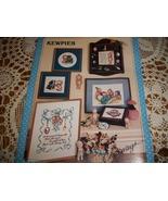 Vintage Kewpie Counted Cross Stitch Leaflet - $8.00