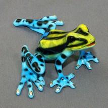 Bronze Frog Statue Figurine Amphibian Art Sculpture Wildlife Frogs Natur... - £333.85 GBP