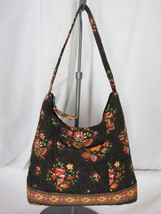 Vera Bradley Chocolat Retired Pattern Shoulder Bag Handbag in Good Condi... - £11.70 GBP