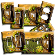 TUSCAN VINEYARD WINE GRAPES LIGHT SWITCH WALL PLATE OUTLET COVER KITCHEN... - $10.99+