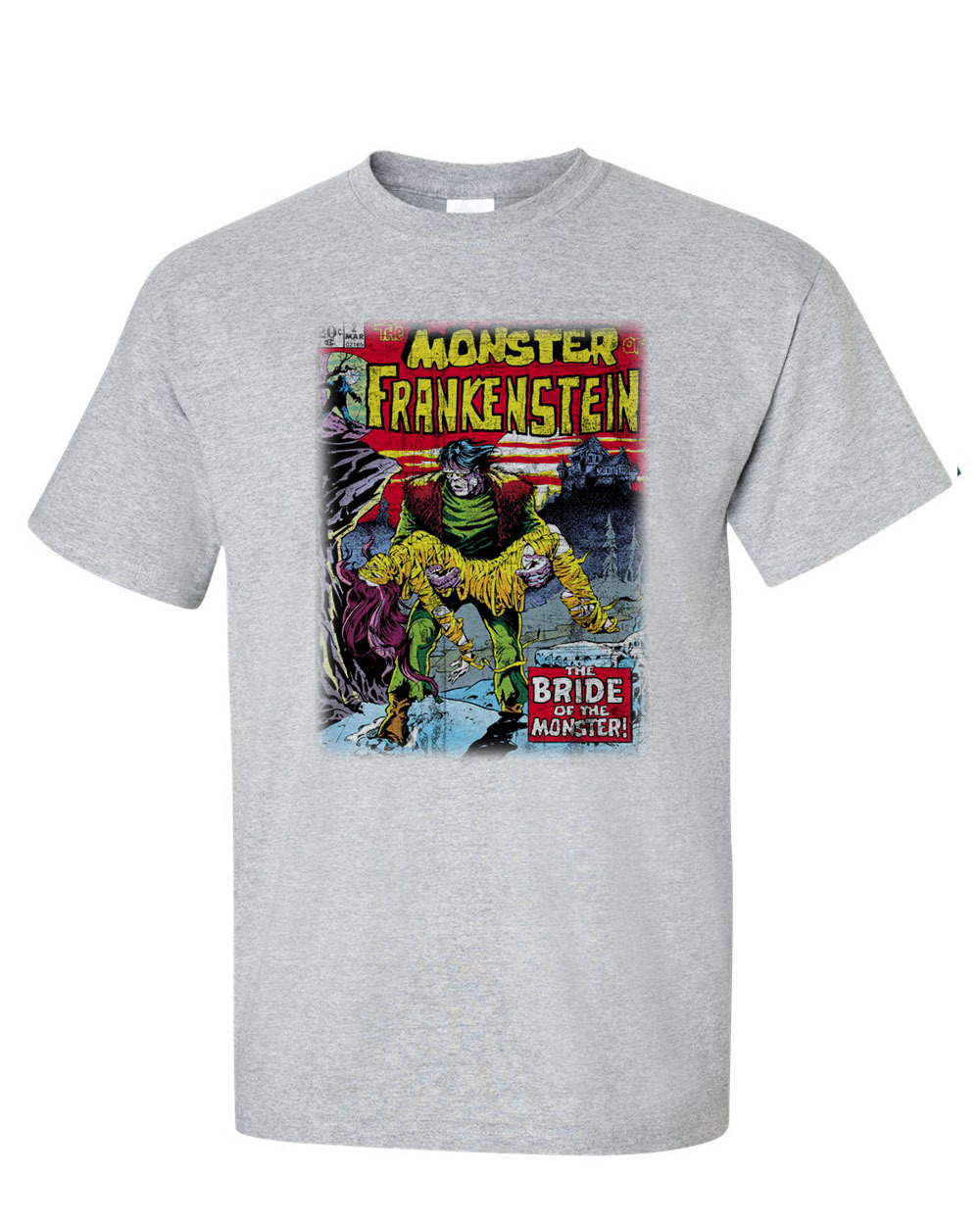 E horror comic books 1970s legion of monsters man wolf dracula graphic tee for sale online store