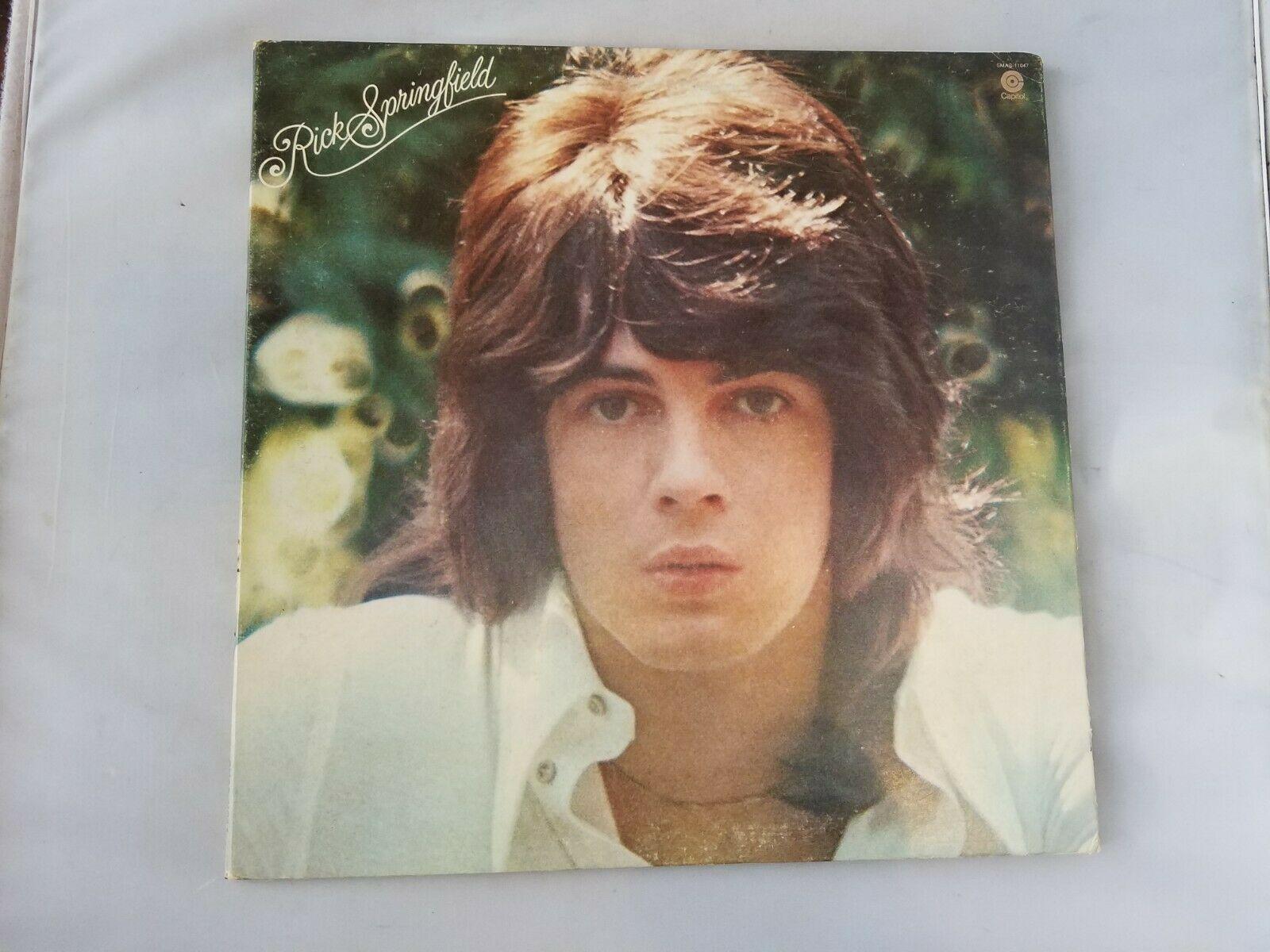 Rick Springfield Beginnings Vinyl Record Vintage 1972 Capitol Records