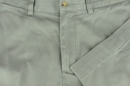 Polo Ralph Lauren Men's Oyster Flat Front Cotton Chino Casual Pants 33 x 30 - $30.59